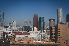 Los Angeles-Stadt Scape stockbild