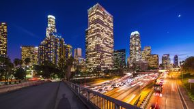 Los Angeles-Stadtbild stock video