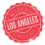 Los Angeles stamp Stock Images