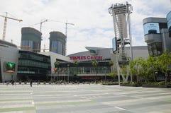 Los Angeles Staple Center Stock Photo