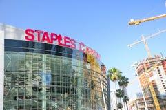 LOS ANGELES Staples Center Obraz Stock