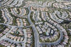 Los Angeles Stevenson Ranch Aerial Lizenzfreie Stockfotografie