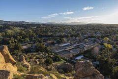 Los Angeles Stoney Point View Royalty Free Stock Images