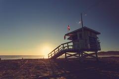 Los Angeles-Strand, Kalifornien, Vereinigte Staaten Stockbild