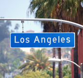 Los Angeles Street Sign Stock Photos
