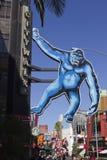 Los Angeles Studio_King universale Kong Fotografia Stock Libera da Diritti
