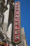Los Angeles Theater Stock Photos