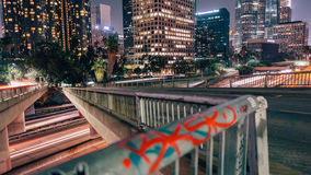 Los Angeles. Time-lapse of downtown Los Angeles