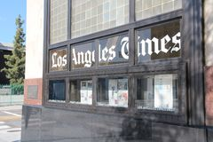Los Angeles Times Obraz Royalty Free