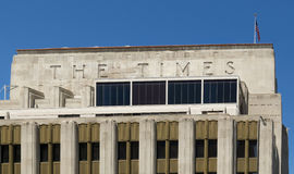 Los Angeles Times Building. Royalty Free Stock Photos