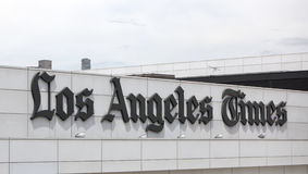 Los Angeles Times Royalty Free Stock Images