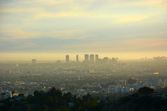 Los Angeles from the top Stock Photos
