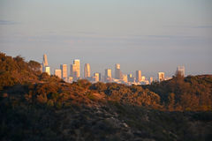 Los Angeles from the top Royalty Free Stock Photo