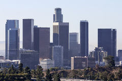 Los Angeles Towers Morning Light Stock Photography