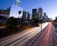 Los Angeles traffic Stock Photos