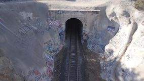 Los Angeles Train Tunnel California Stock Images