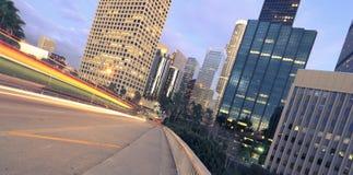 Los Angeles at twilight Stock Photo