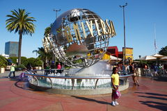 Universal Studios hollywood Globe Royalty Free Stock Images