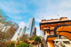 Los Angeles un chiaro giorno immagine stock