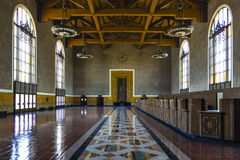 Los angeles union station. Union station in los angeles Royalty Free Stock Photography