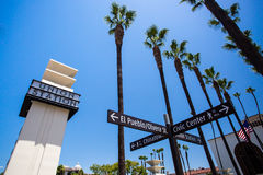 Los Angeles Union Station Exterior Royalty Free Stock Images