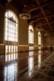 Los Angeles Union Station Ticketing Hall Stock Photo