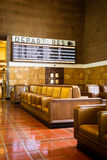 Los Angeles Union Station Waiting Area Royalty Free Stock Photography