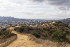 Los Angeles Urban Trail Royalty Free Stock Image