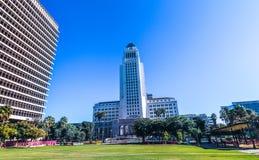 Los Angeles urząd miasta, Kalifornia USA zdjęcia stock