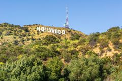 The Hollywood Sign royalty free stock image