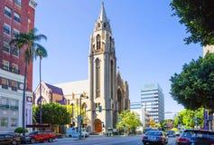 Los Angeles, usa, 2016:02: 24 Immanuel kościół prezbiteriańskiego Obraz Stock
