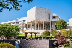 LOS ANGELES, USA - JUNE, 2015: The Central Garden Royalty Free Stock Image