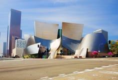 Los Angeles USA, 2016:02: 28 konserthallen Walt Disney Royaltyfria Foton