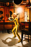 Uma Thurman as the Bride from Kill Bill in Madame Tussauds Hollywood Stock Photography