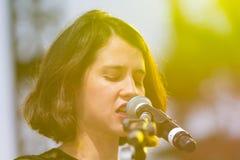 Ximena Sariñana, Mexican singer-songwriter and actress during D Royalty Free Stock Image