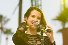 Ximena Sariñana, Mexican singer-songwriter and actress during D Royalty Free Stock Photo