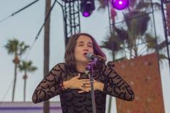 Ximena Sariñana, Mexican singer-songwriter and actress during D Stock Images