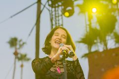 Ximena Sariñana, Mexican singer-songwriter and actress during D Royalty Free Stock Photography