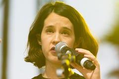 Ximena Sariñana, Mexican singer-songwriter and actress during D Royalty Free Stock Photos