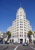 Los Angeles, usa, 2016:02: 25 Pierwszy bank narodowy w Hollywood Zdjęcie Stock