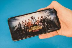 Free Los Angeles, USA - September 5, 2019: Screenshot Of Pubg Game On Your Phone Royalty Free Stock Images - 158846899