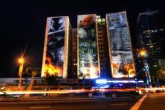 Los Angeles USA - 13th av April 2013: Hotell Figueroa Los Angele royaltyfri foto