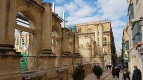 Los Angeles Valletta Malta Zdjęcia Royalty Free