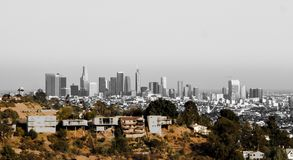 Los Angeles van de binnenstad stock fotografie