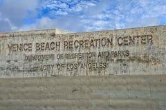 Los angeles venice beach recreation center Stock Photos