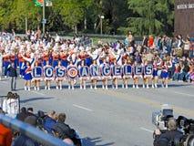 Los Angeles vereinheitlichte Schule-Blaskapelle lizenzfreie stockfotos