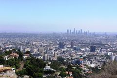 Los Angeles View Royalty Free Stock Photo