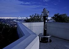 Los Angeles View Point Royalty Free Stock Images