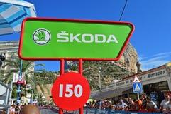 Los Angeles Vuelta España 2016, 150 metrów Iść Zdjęcie Stock
