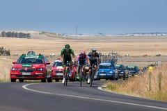 Los Angeles Vuelta, Hiszpania - Scena 5 w Cadiz prowinci 26th 2015 Sierpień Zdjęcia Stock